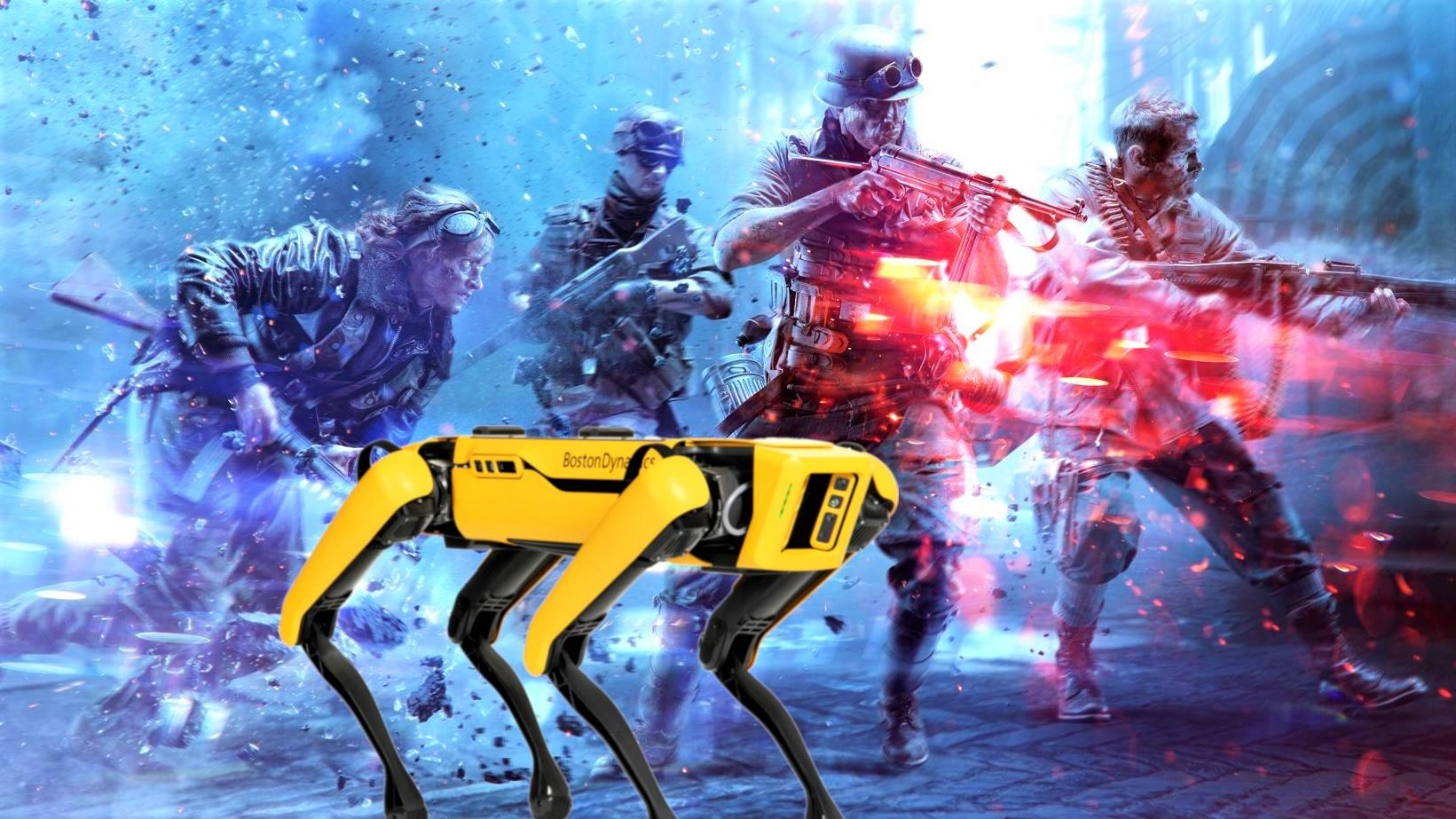 Battlefield 6 - Screenshots geleakt: Robo-Hund und viel Zerstörung