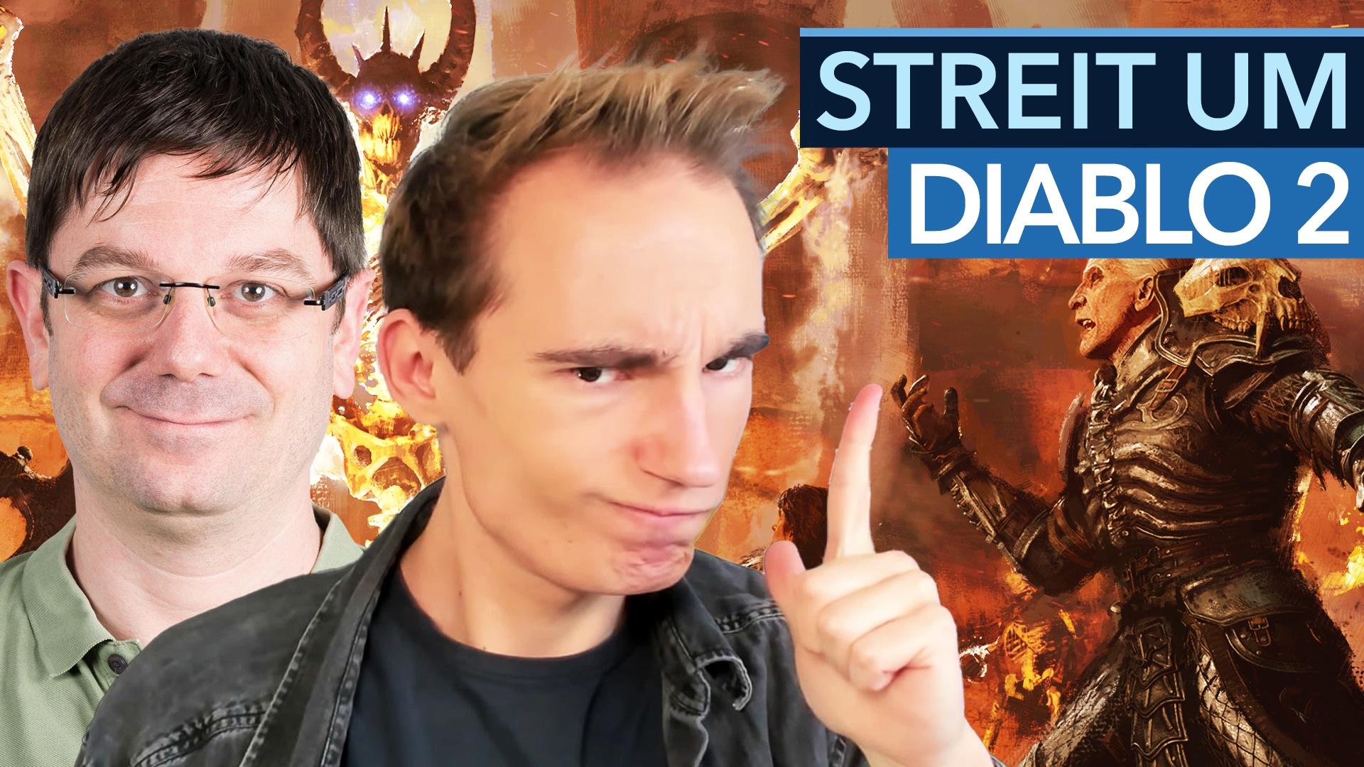 Diablo 2: Resurrected - Das ist zu altmodisch, sagt Maurice. Quatsch, sagt Heiko!