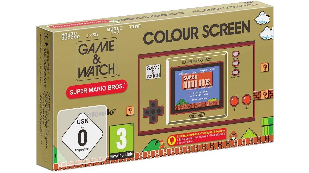 Game & Watch: Nachbau von Nintendos erste Konsole mit Super Mario Bros.