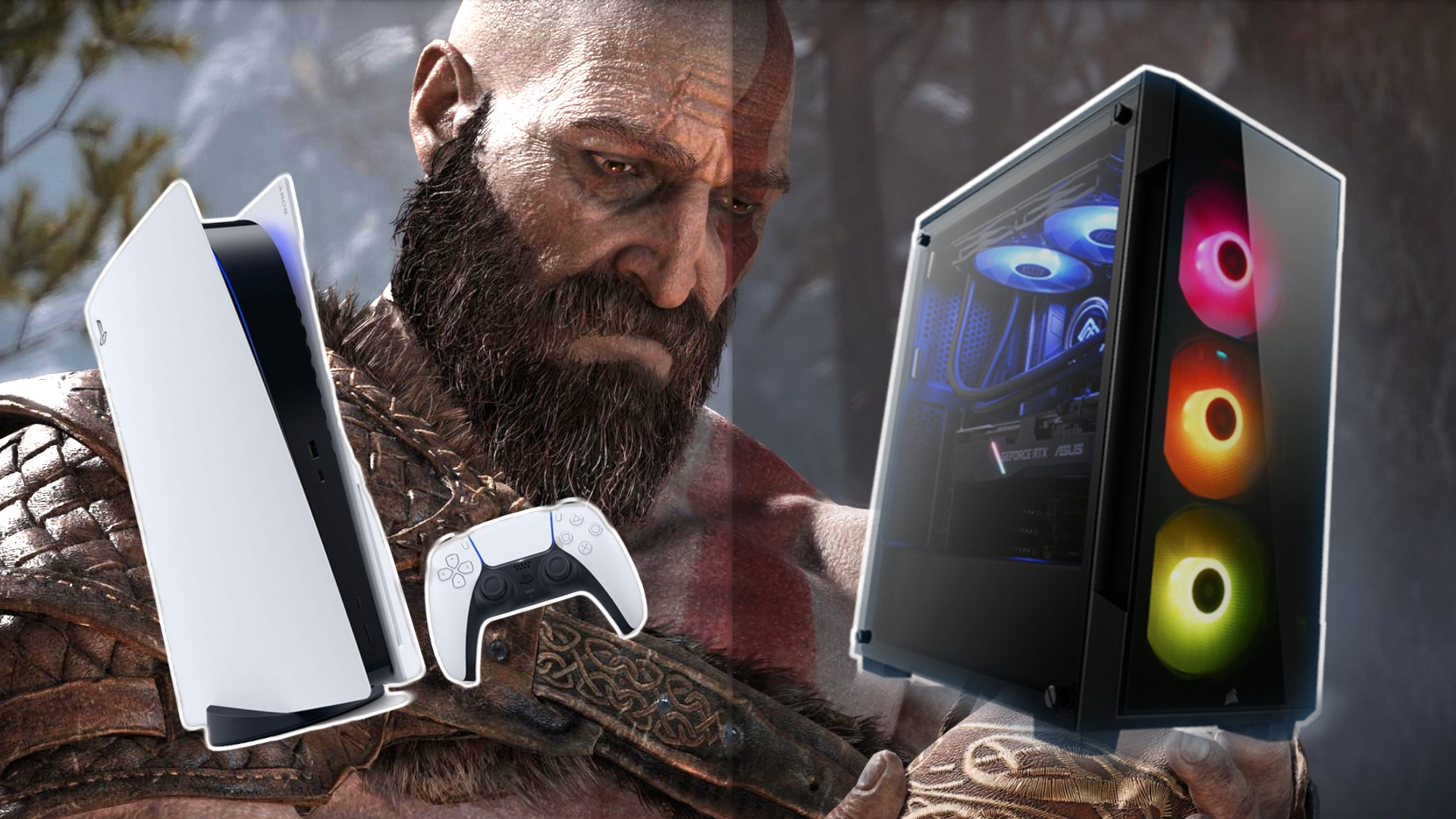 God of War: Grafikvergleich zwischen PC und PS5 überrascht