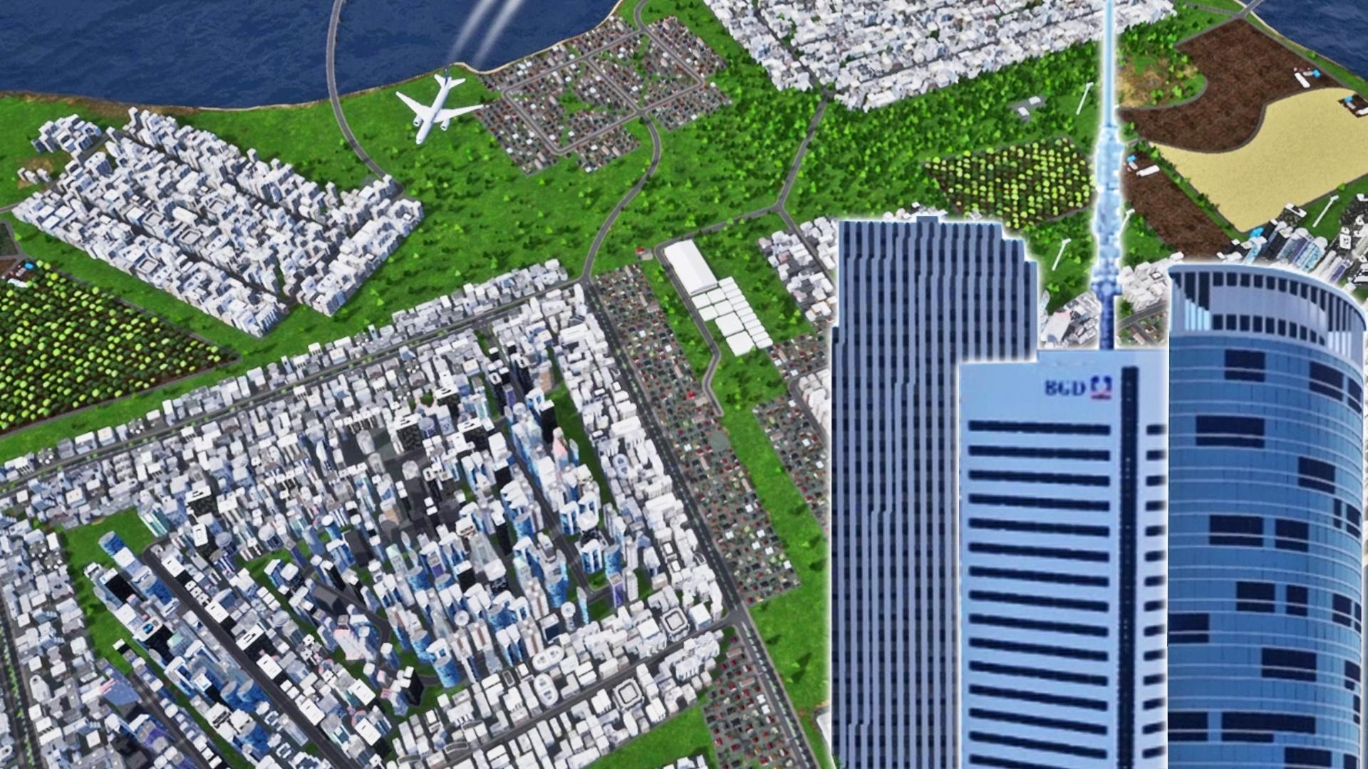 Highrise City sieht aus wie Cities: Skylines, ist aber eigentlich Anno