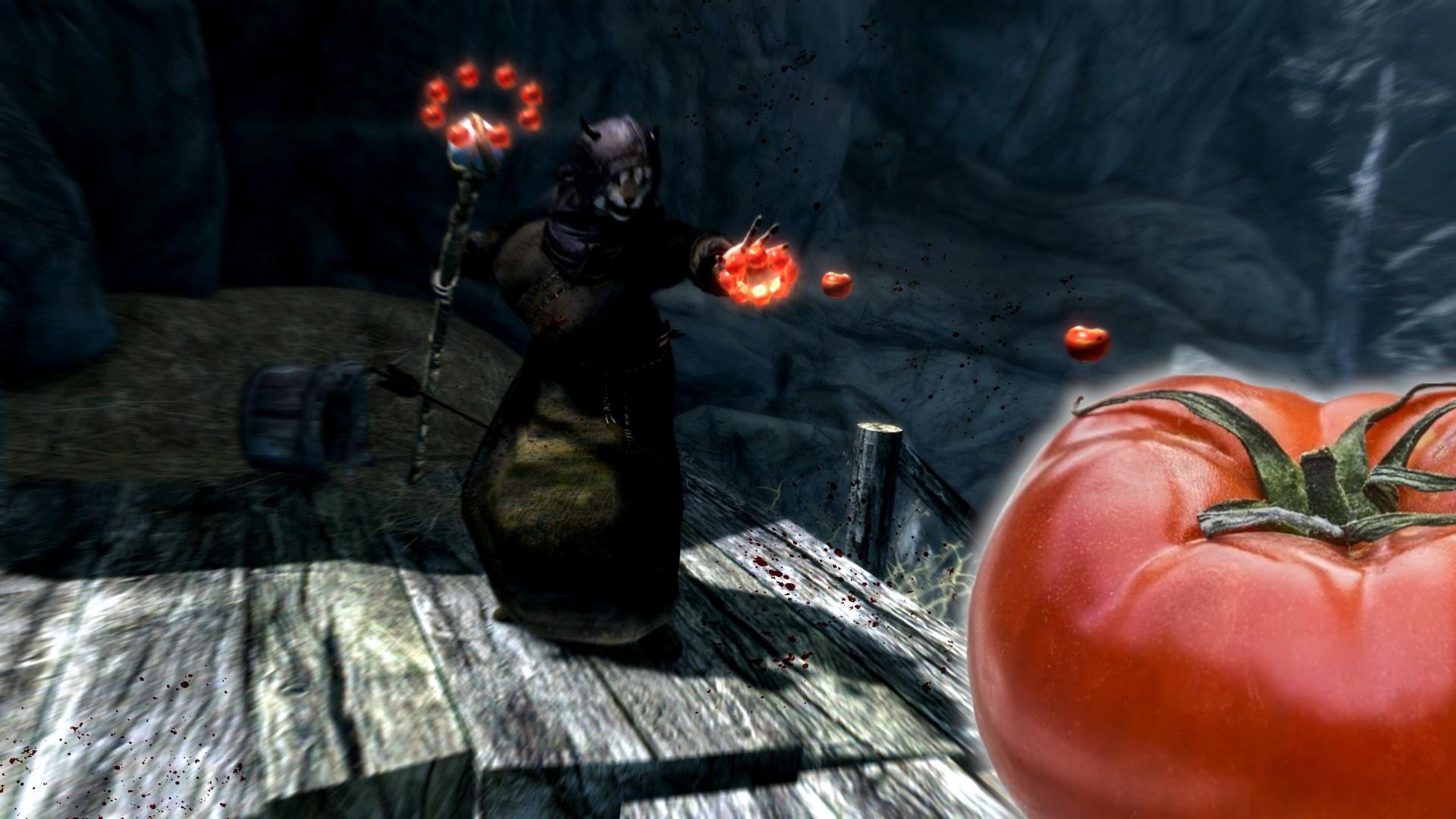 How a tomato mod turns Skyrim upside down