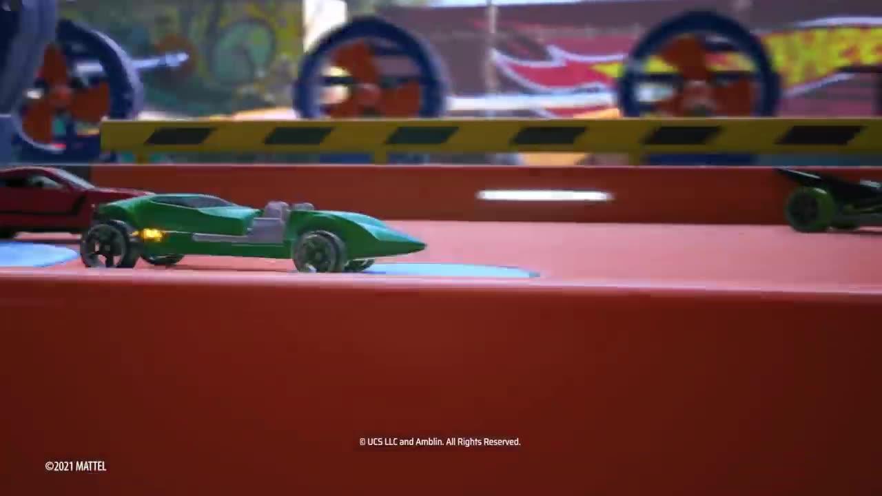 Hot Wheels Unleashed - Der Launch-Trailer ist ein Fest für Plastikauto-Fans