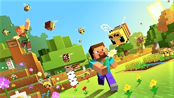 Fan turns Minecraft into an MMO: Thousands of players without lag in one world
