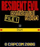 Resident Evil Confidential Report File 1