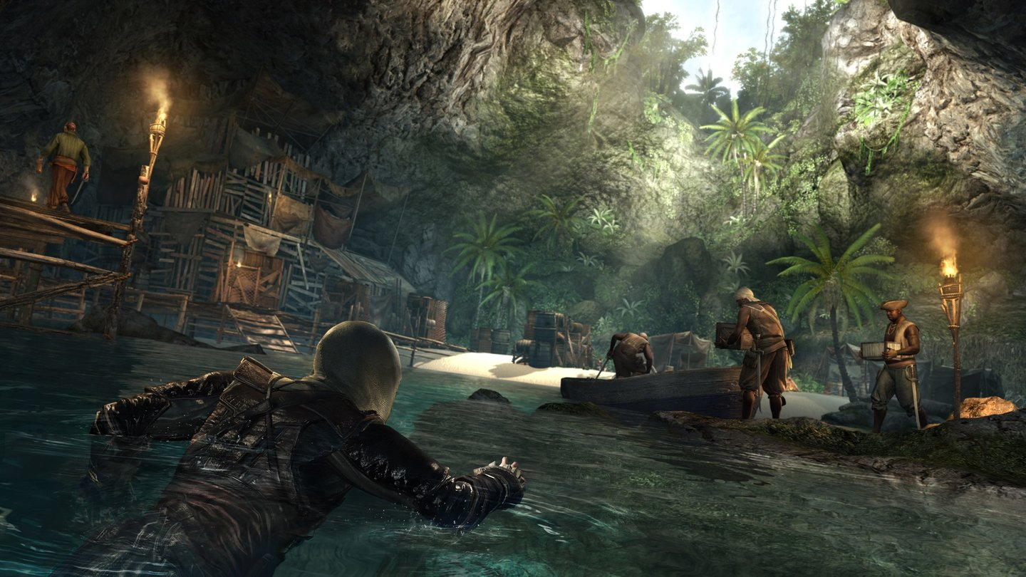Assassin's Creed 4 Black Flag - Screenshots von der Gamescom 2013