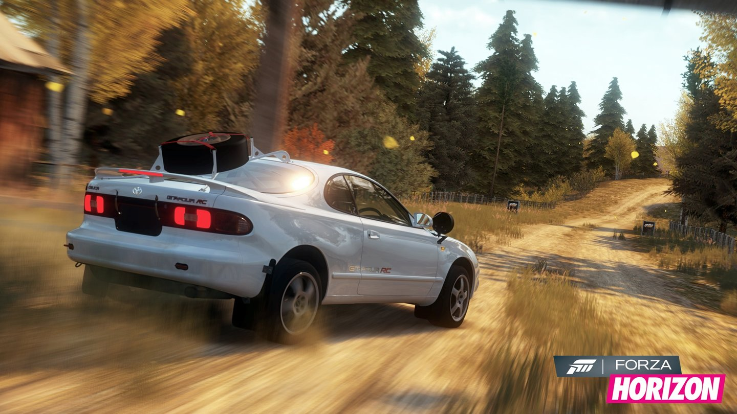 Forza Horizon - Screenshots aus dem »Rally«-DLC