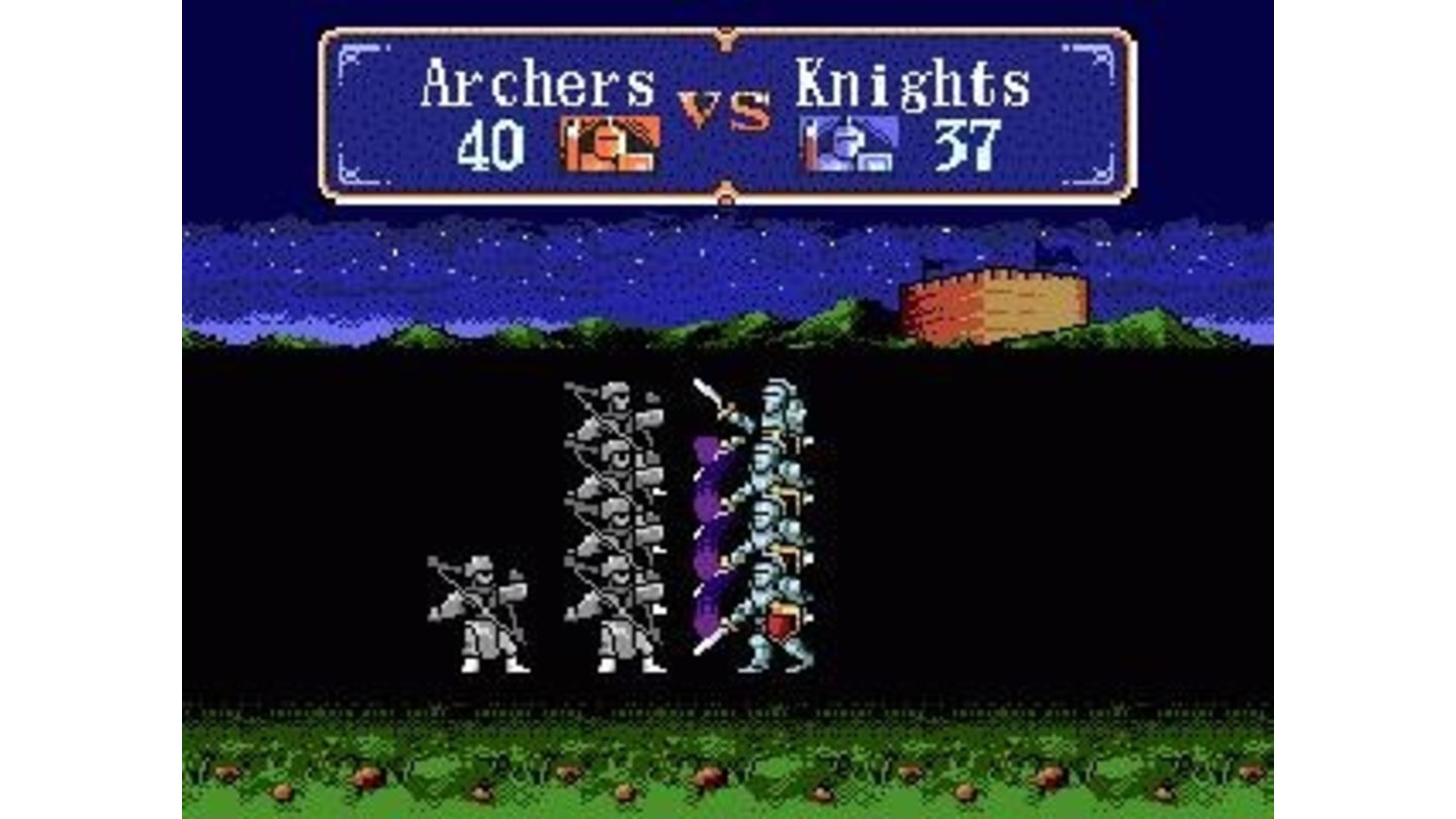 Knghts vs. archers