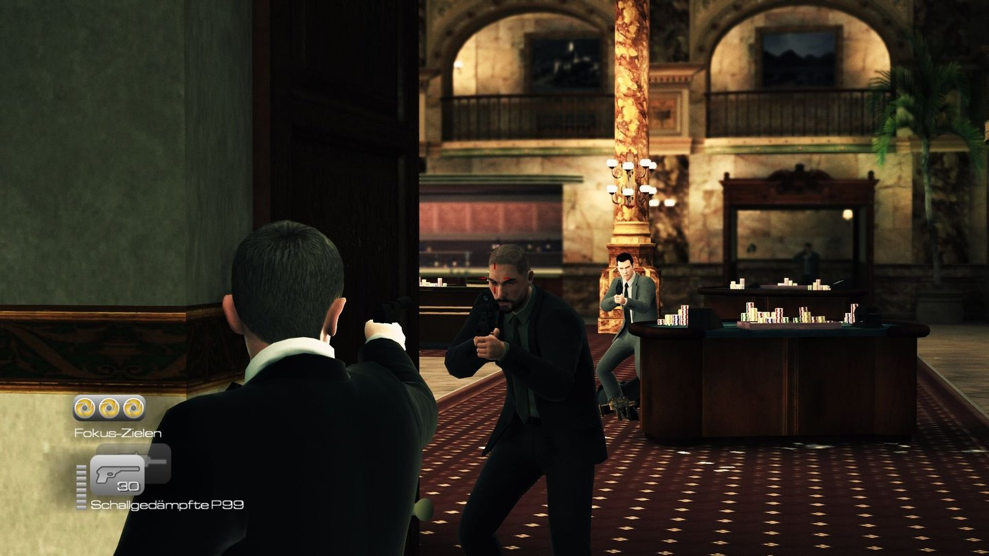 James Bond 007: Blood StonePC-Screenshots aus der Test-Version von James Bond 007: Blood Stone.
