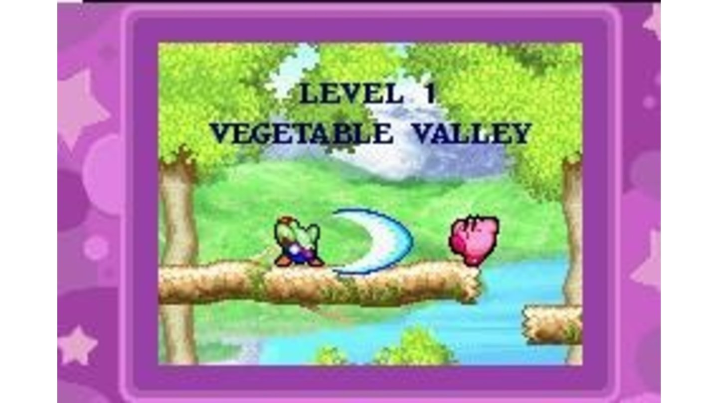 The level 1 intro has been censored to not suggest Kirby using violence anymore