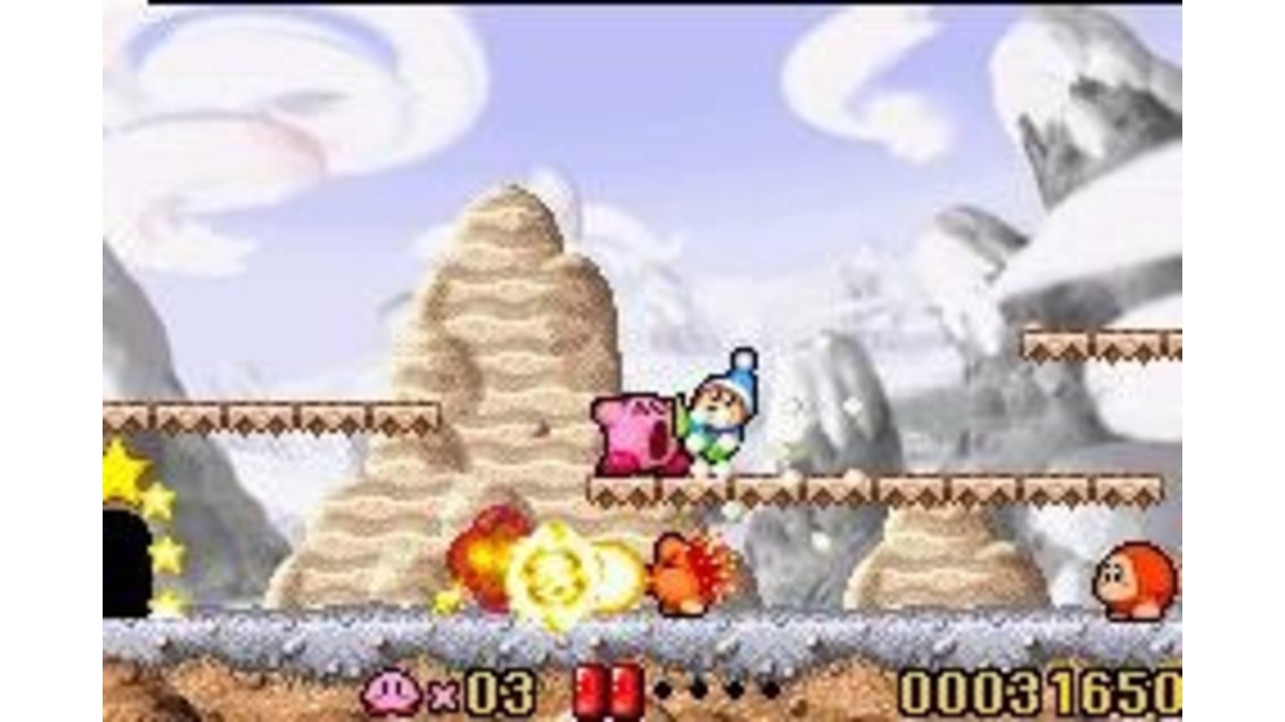 You could describe the Kirby platformers as Eat'em'up games.