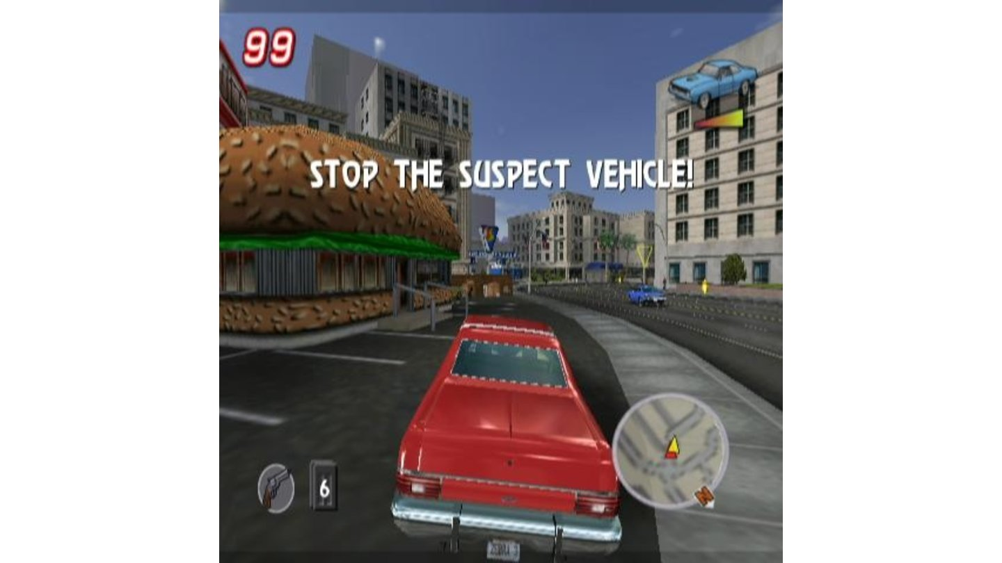 You stop the suspect vehicle!