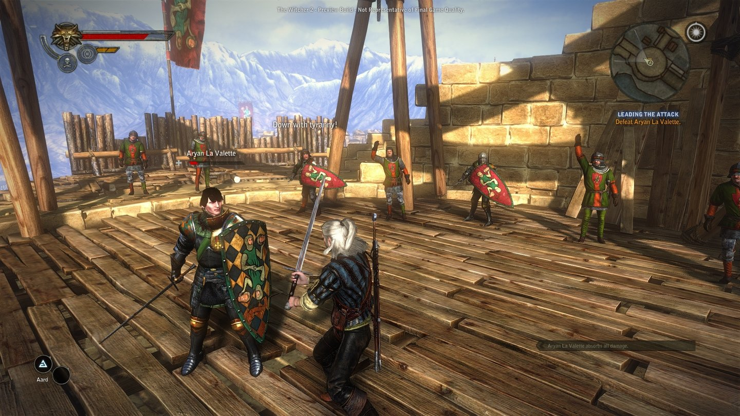 The Witcher 2: Assassins of KingsScreenshots aus der Preview-Version.