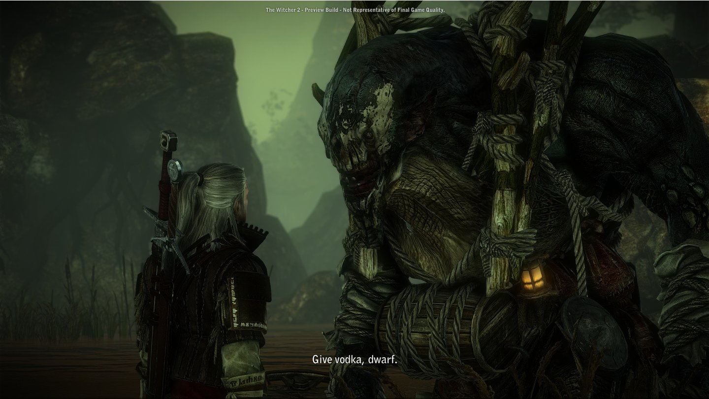 The Witcher 2: Assassins of KingsScreenshots aus dem Prolog und dem ersten Akt von The Witcher 2.
