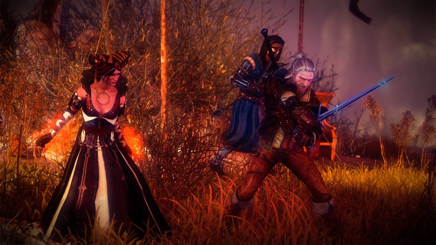 The Witcher 2: Assassins of Kings... und erlebt in The Witcher 2: Assassins of Kings ein hervorragend inszeniertes Abenteuer ...