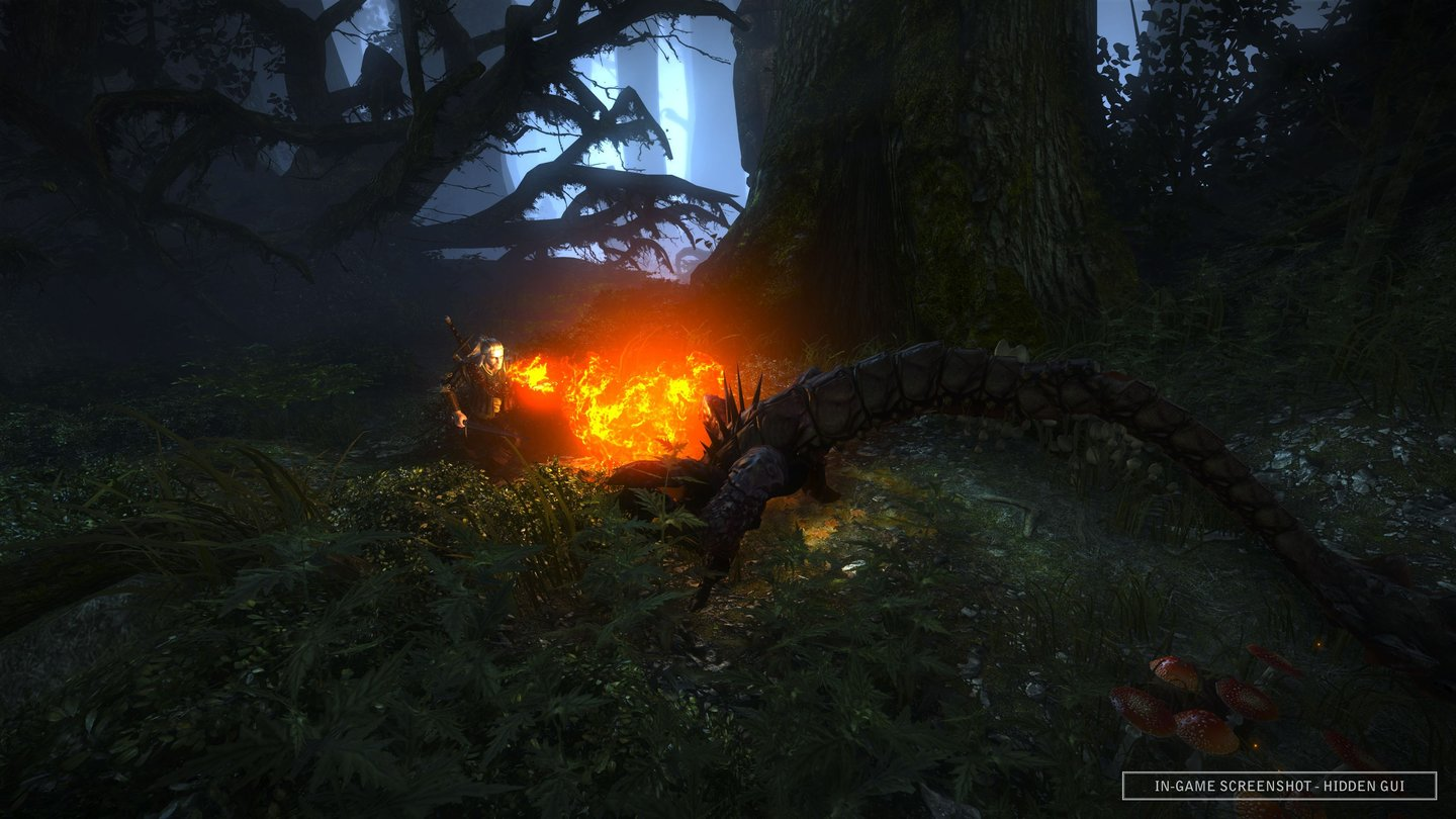 The Witcher 2: Fight in the forest