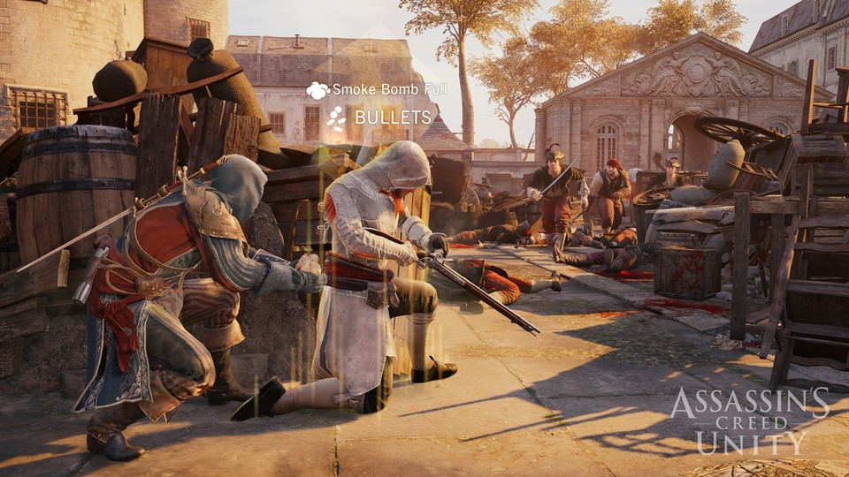 Eine Wii-U-Version von Assassin's Creed Unity war laut Ubisoft Montreal aus technischen Gründen nicht auf einem akzeptablen Niveau nicht zu realisieren.