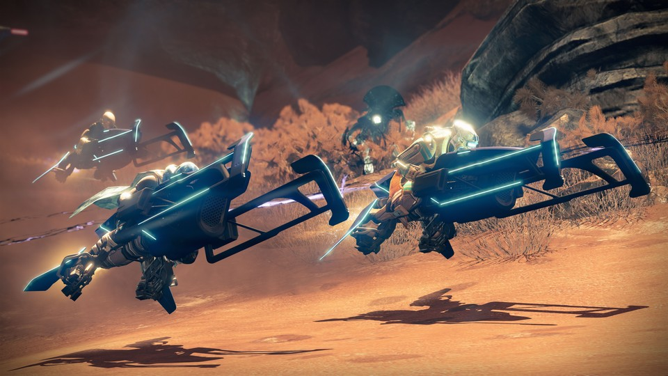 Mit dem Patch 2.1 startet in Destiny auch die Sparrow Racing League.