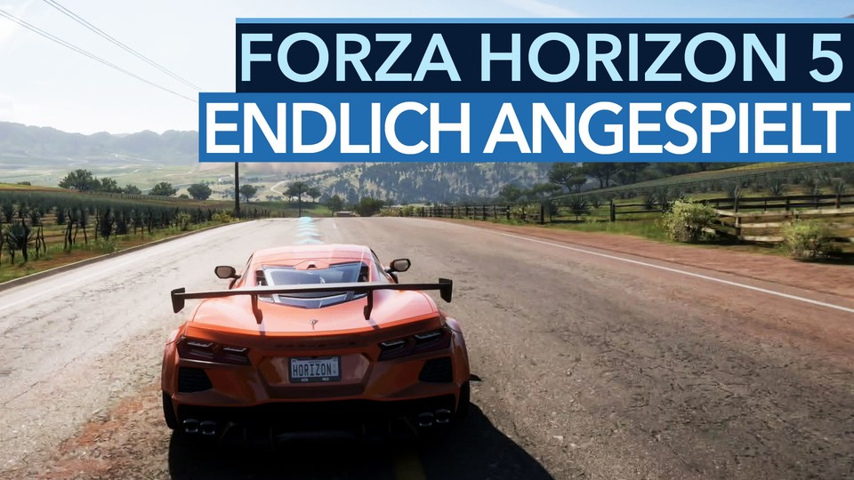 Forza Horizon 5's open world looks - and plays - fantastic