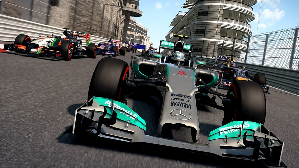 F1 2014 - Test-Video zur Formel-1-Simulation