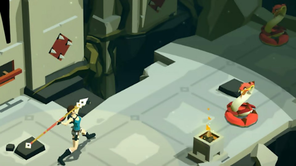 Lara Croft GO - Trailer zum Mobile-Ableger