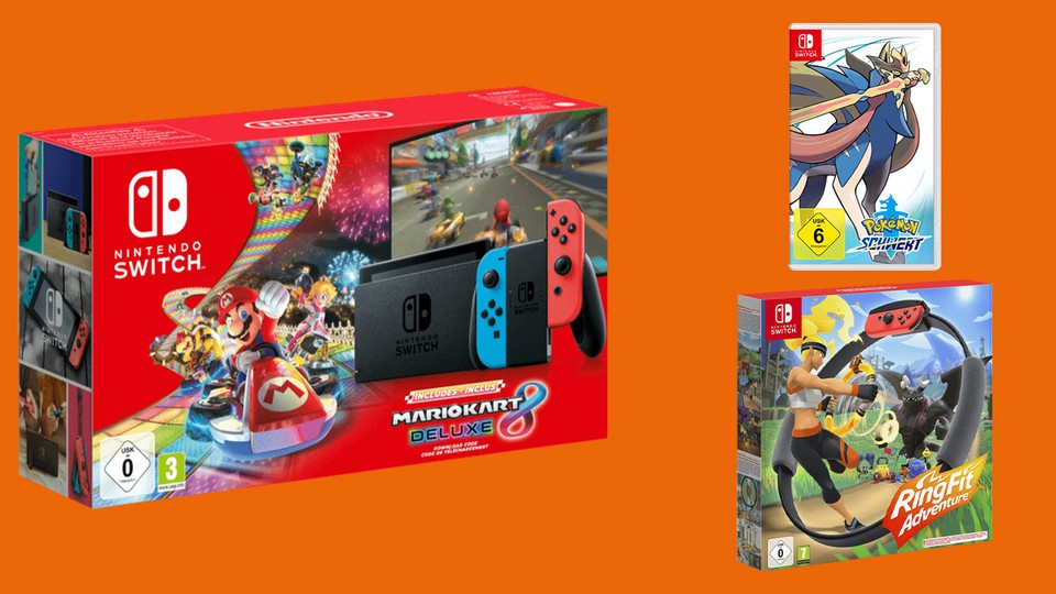 Nintendo Switch Mario Kart 8 Bundle