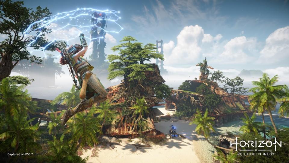 Link's Sails al di fuori di BotW ha influenzato molti giochi, incluso Horizon Forbidden West.