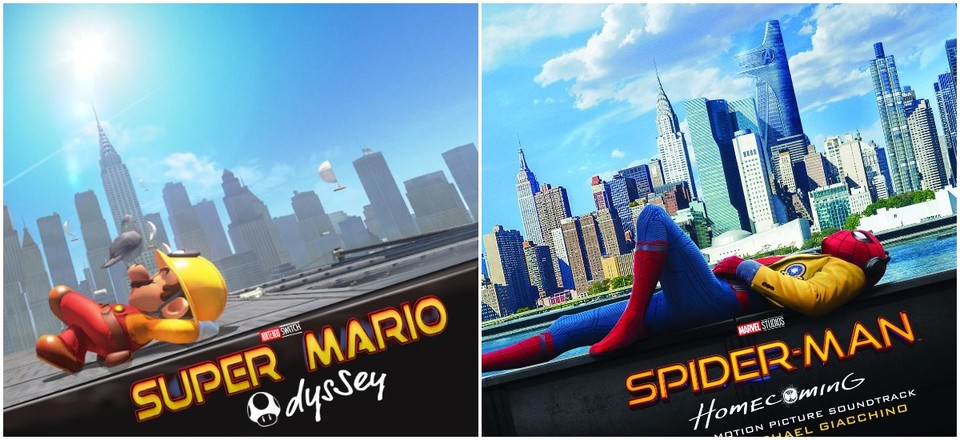 Super Mario Odyssey - Spider-Man: Homecoming