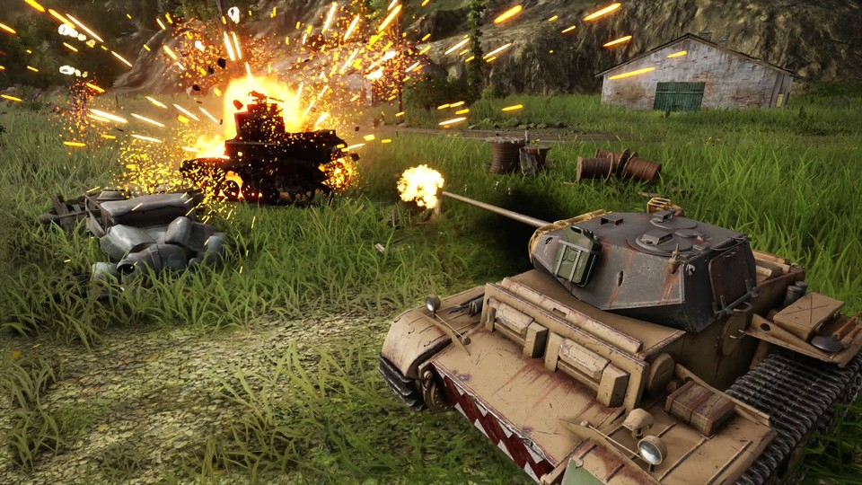 World of Tanks: Mercenaries ist das große Update für die Konsolenversion von World of Tanks.