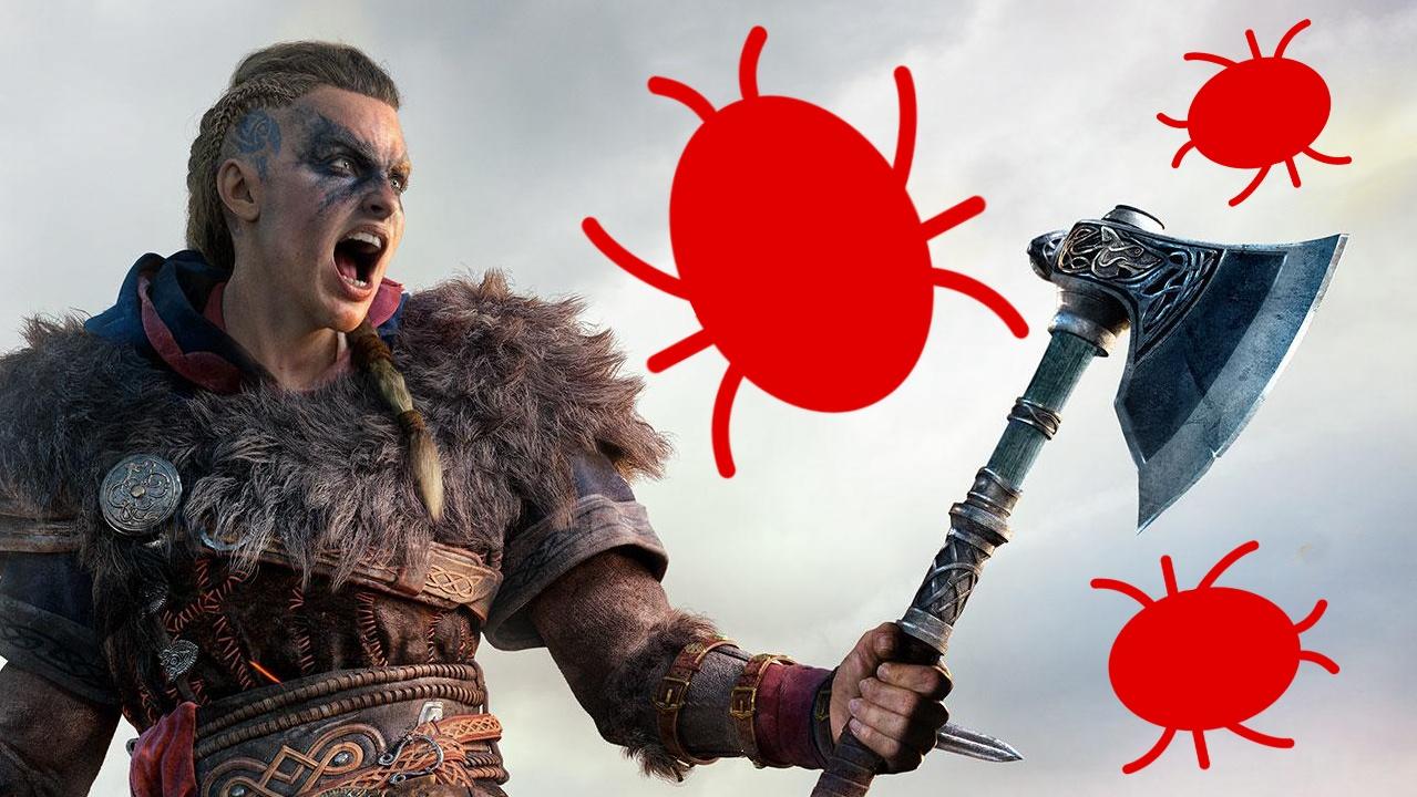 Assassin's Creed Valhalla-Bug lässt NPC zum Bart-Monster werden, was urkomisch aussieht