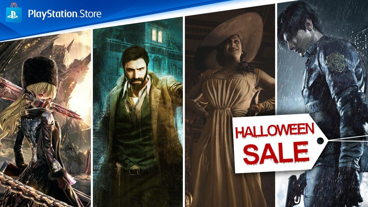 PS Store – Halloween Sale mit PS4- & PS5-Hits wie Resident Evil 8 gestartet